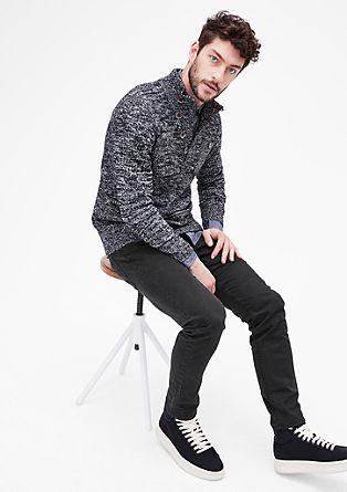Close Slim: barvne jeans hlače