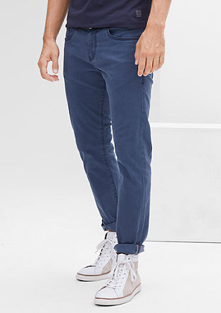 Close Slim: jeans with a belt from s.Oliver
