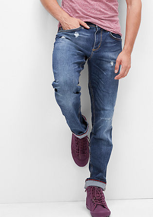 Close Slim: Used Stretch-Jeans