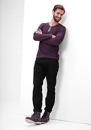 Close slim: zwarte jeans