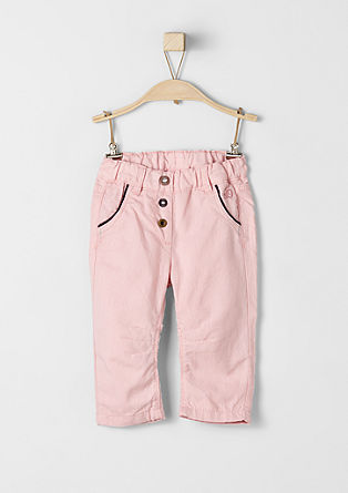 Cloth trousers with a thin lining from s.Oliver