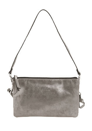 Clutch in metallic look