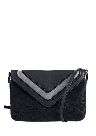Clutch torbica iz mešanice materialov