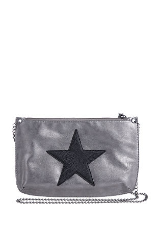 Clutch torbica v kovinskem videzu