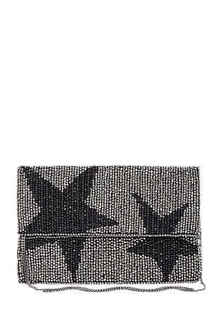 Clutch torbica z okrasnimi biseri