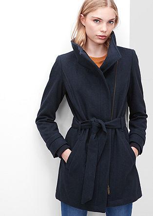 Coat met strakke look