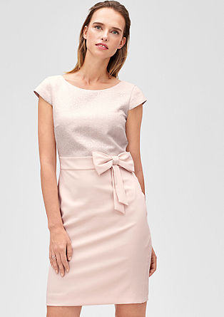 Cocktail dress with a bow from s.Oliver