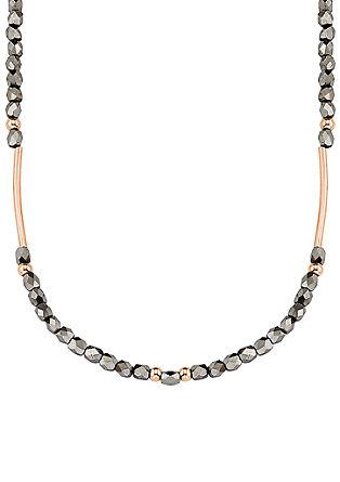Collier met glazen beads