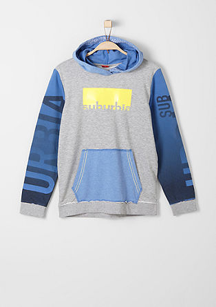 Colour block hoodie from s.Oliver