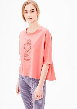 Comfortabel shirt van katoen