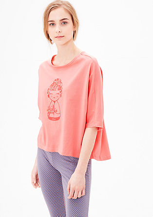 Comfortable cotton T-shirt from s.Oliver