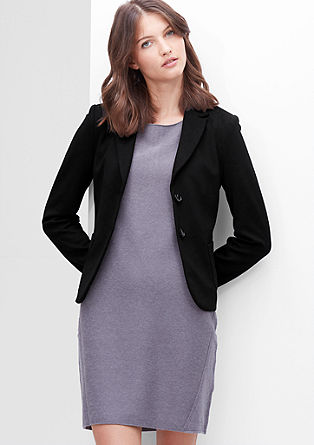 Comfortable sweatshirt blazer from s.Oliver