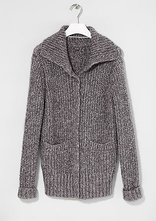 Cosy cardigan with mohair from s.Oliver