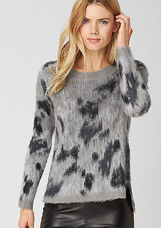 Cosy jumper with alpaca from s.Oliver