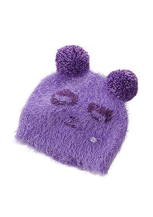 Cosy pompom hat from s.Oliver