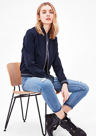 Cotton college jacket from s.Oliver