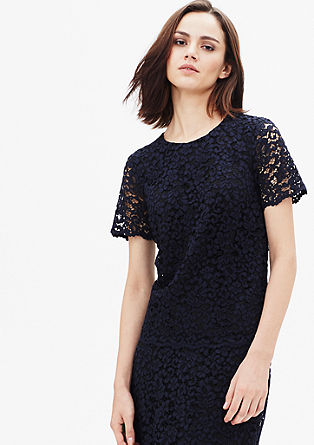 Cotton lace blouse from s.Oliver