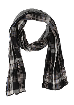 Cotton scarf in a mix of patterns from s.Oliver