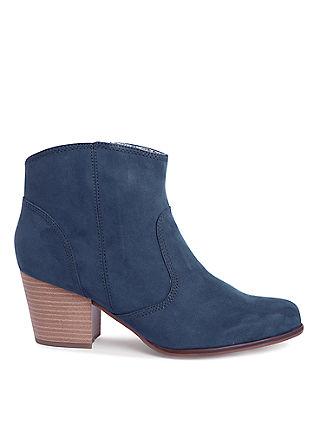 Cowboy-Boots in Wildleder-Optik
