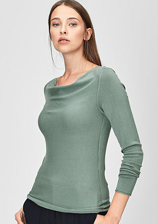 Cowl neck jumper from s.Oliver