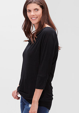 Cowl top in viscose from s.Oliver