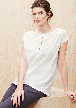 Crepe blouse top from s.Oliver