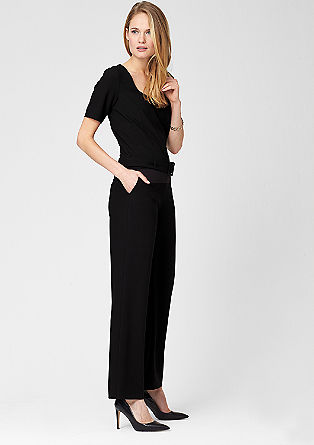 Crêpe jumpsuit from s.Oliver