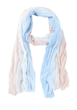 Crinkle scarf in a graduated colour from s.Oliver
