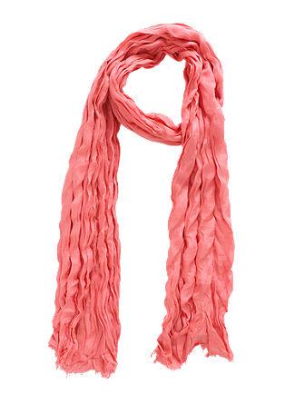 Crinkle-Schal aus Viskose