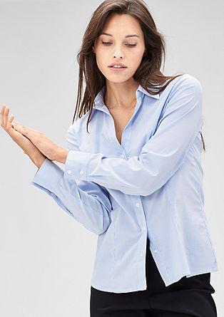 Črtasta bluza s strečem