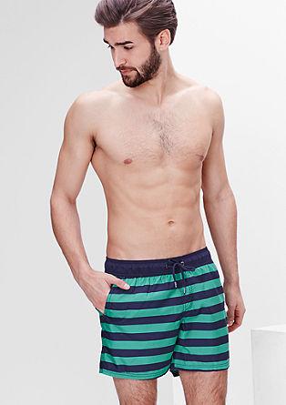 Črtaste kopalne kratke hlače