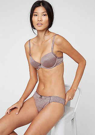 Cup bra in a marled look from s.Oliver