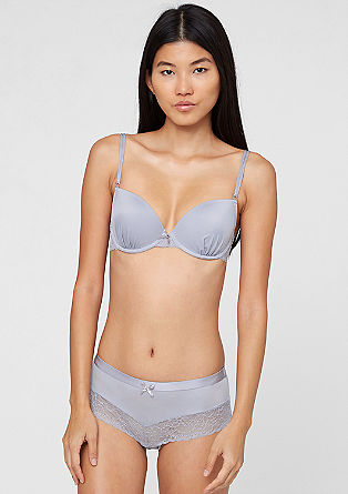 Cup bra with lace from s.Oliver
