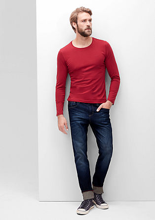 Curt Relaxed: donkere jeans