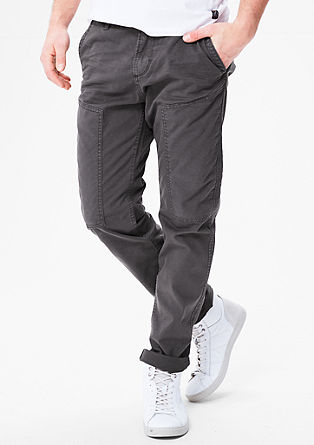 Curt Relaxed: trousers with zip pockets from s.Oliver