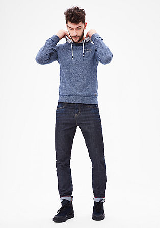 Curt straight: casual used-jeans