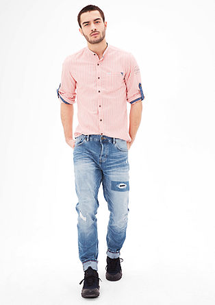 Curt Straight: jeans hlače raztrganega videza