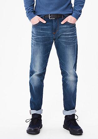 Curt Straight: Jeans hlače s pasom
