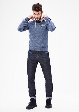 Curt Straight: sproščene jeans hlače obrabljenega videza