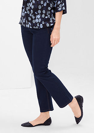 Curvy: stretch bootcut jeans from s.Oliver