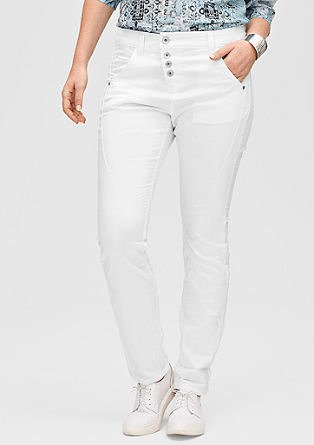 Curvy: stretch twill trousers from s.Oliver