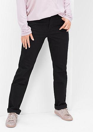 Curvy fit: zwarte stretchjeans