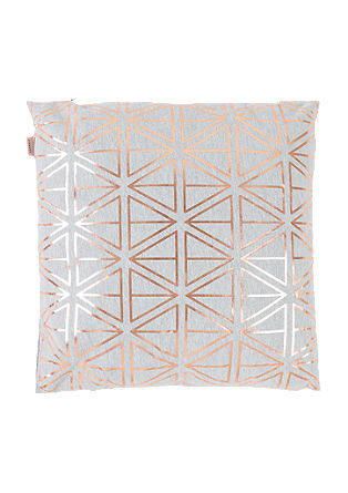Cushion with abstract pattern from s.Oliver
