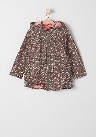 Cvetlična jakna iz najlona