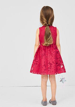 Cvetlična obleka iz organze