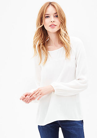 Dainty tunic-style blouse from s.Oliver
