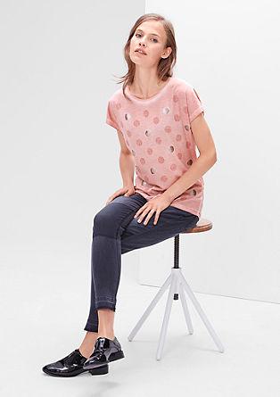 Decoratief garment-dyed shirt