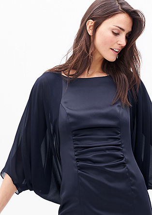 Delicate chiffon poncho from s.Oliver