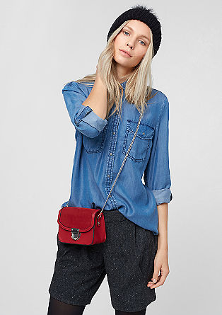 Denim-look blouse from s.Oliver