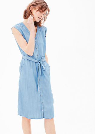 Denim-look dress from s.Oliver